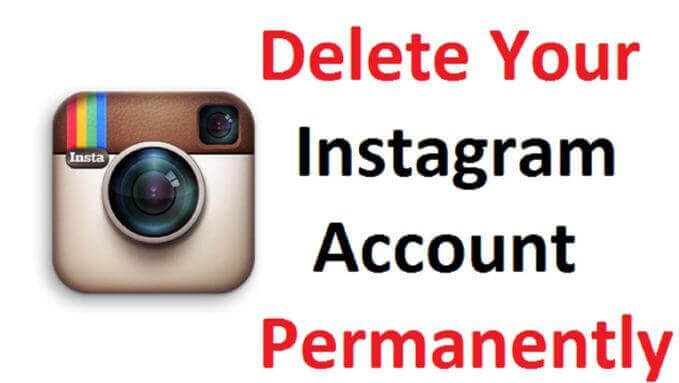 how to delete instagram account permanantly