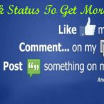 Facebook Status To Get More Likes