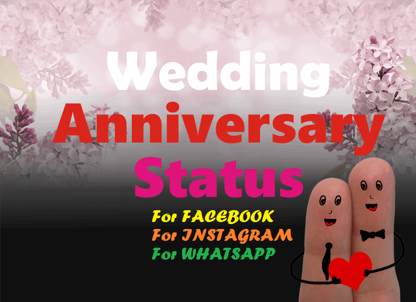 Wedding Anniversary Status
