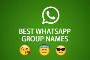 2000+ Best Whatsapp Group Names List for Friends