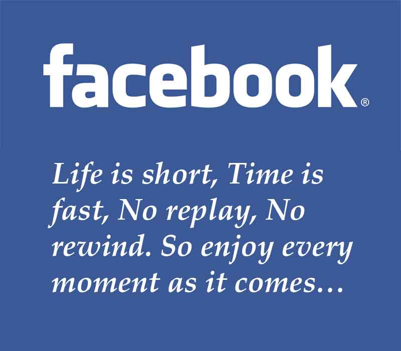 Short Status Quotes for Facebook