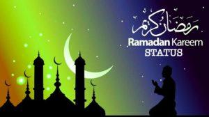 Ramadan Kareem Status