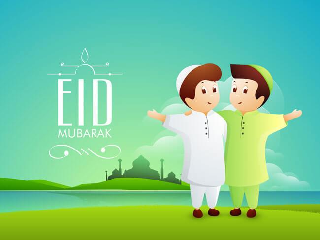Eid Mubarak Messages for Friends 2018