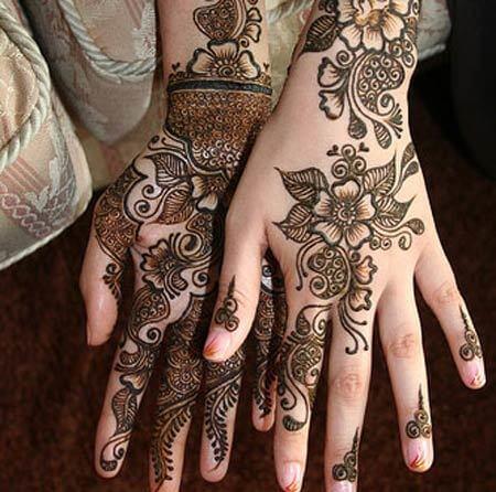 31 Latest Eid Mehndi Designs for Girls 2018