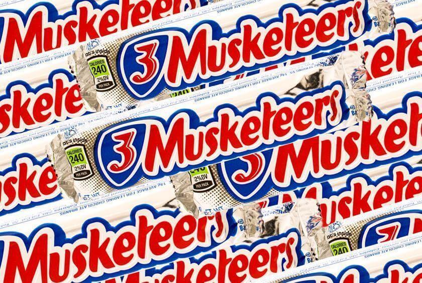 #20 3 Musketeers