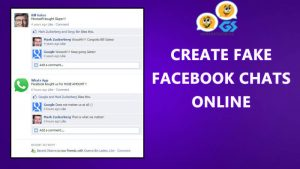 Fake Facebook Chat Generator