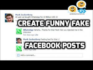Fake Facebook Post Generator - Create Fake Facebook Post Online