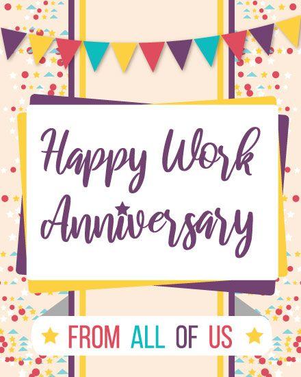 Work Anniversary Image
