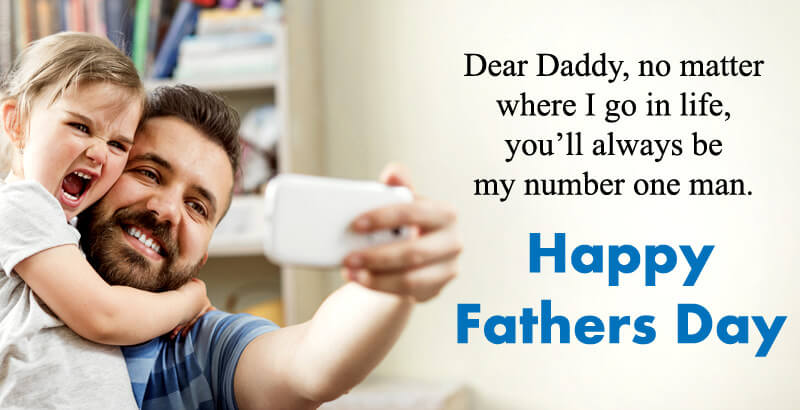 Lovely Fathers Day Wishes From Daughter