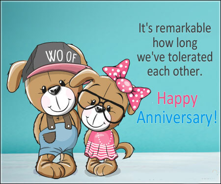 Funny Anniversary Wishes