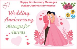 Happy Anniversary Messages for Parents