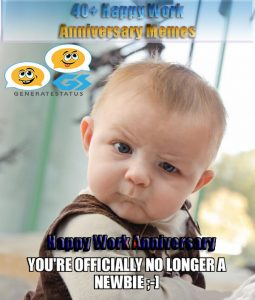 40+ Happy Work Anniversary Meme