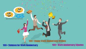 Happy Work Anniversary Status and Wishes