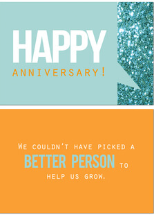 Work Anniversary Cards