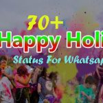 70+ Holi Status For Whatsapp