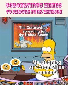 Coronavirus Memes To Reduce Your Tension