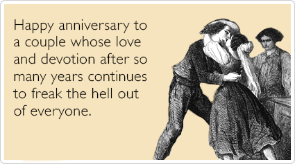 Dirty Anniversary Ecards