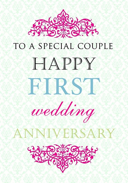 Happy 1st Anniversary Images For Wife