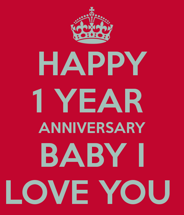 Happy 1st Anniversary Images for aunt