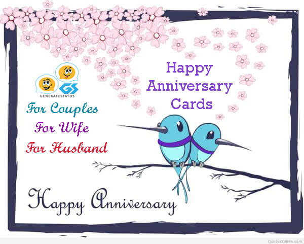Happy Anniversary Card for Loved Ones