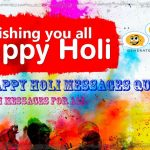 100+ Happy Holi Messages Quotes