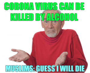 Muslims Will Die - Coronavirus
