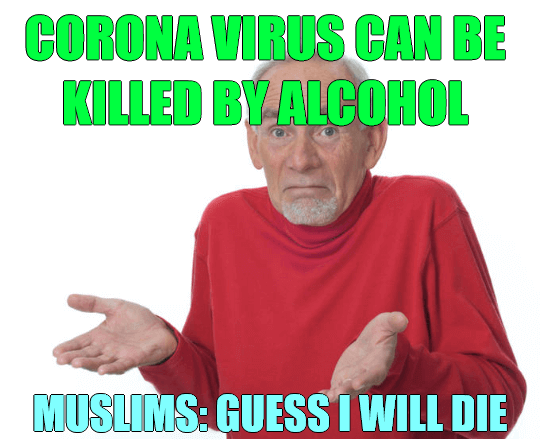 Muslims Will Die – Coronavirus