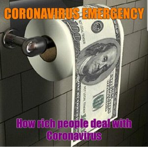 How rich people deal with coronavirus