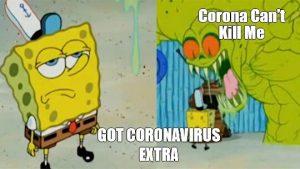 Spongebob vs Coronavirus