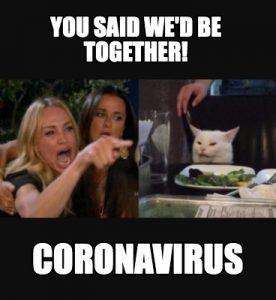 Broken Heart Coronavirus