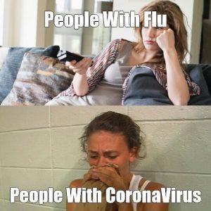 Flu Vs Coronavirus