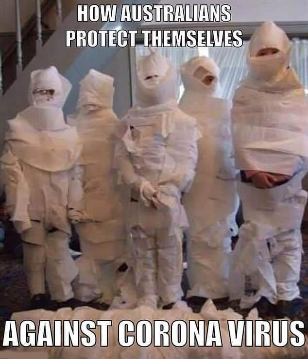 Australians Coronavirus Suit