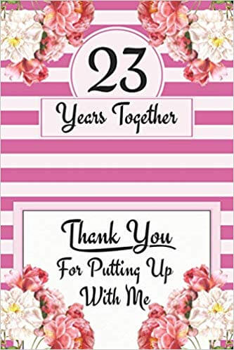 Happy 23rd Anniversary Card for mom and dad