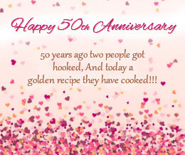 Happy 50th Anniversary Images for parents