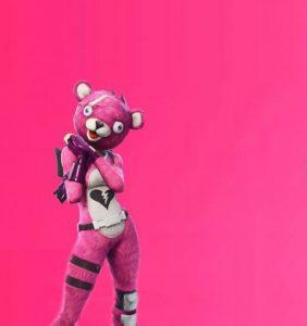 Creepy Bear Fortnite Meme