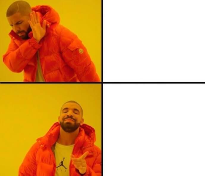Drakes Reaction on Coronvirus