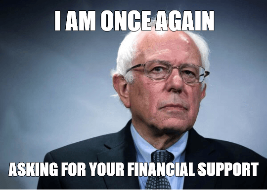 Bernie Sanders Meme Make Most Viral Memes In Seconds