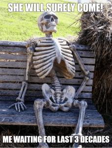 Skeleton Meme