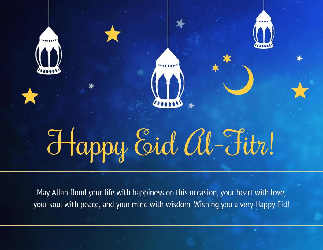Eid Al Fitr 2020 Status