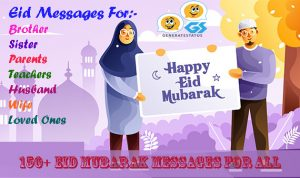 150+ Eid Mubarak Messages For Everyone