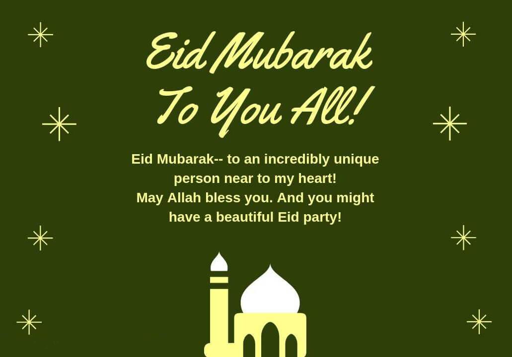 Eid Mubarak Whatsapp Status For Everyone