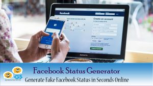 Facebook Status Generator - Generate Fake Facebook Status Online
