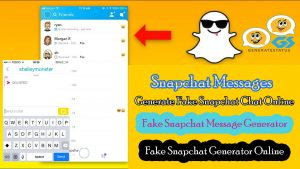 Snapchat Messages - Generate Fake Snapchat Chat Online
